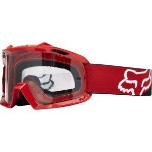 Велоочки подростковые Fox Air Space Youth Matte Red Clear, 09636-906-OSВелоочки<br>Проверенная временем маска от Fox, созданная специально для юных любителей вело и мотокросса. Основные её особенности – на 30% больший, чем раньше, объём воздуха внутри оправы, обеспечивающий лучшую вентиляцию, отличный боковой обзор и максимальный комфорт. 19-миллиметровая подкладка из трёх слоёв пеноматериала эффективно отводит влагу от лица.<br><br><br><br>ОСОБЕННОСТИ<br><br><br><br>Больший, чем раньше, объём воздуха внутри оправы обеспечивает лучшую вентиляцию, отличный боковой обзор и максимальный комфорт<br><br>Линза из патентованного полимера Lexan обеспечивает стопроцентную защиту от ультрафиолетового излучения<br>