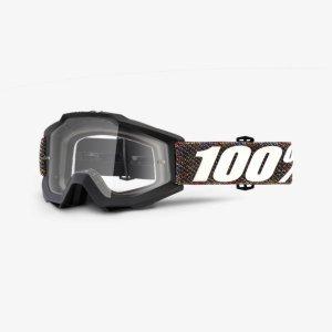 Велоочки 100% Accuri Krick / Clear Lens, 50200-227-02Велоочки<br>Классическая вело и мотокроссовая маска лаконичного дизайна – Accuri стильно выглядит, хорошо вентилируется и обеспечивает отличный обзор. Благодаря силиконовой накладке, резинка будет надёжно держаться на шлеме. В комплекте – текстильный чехол.<br><br><br><br>ОСОБЕННОСТИ<br><br><br><br>Прозрачная линза<br><br>В комплекте – текстильный чехол<br>