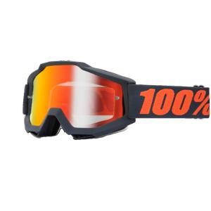 Велоочки 100% Accuri Matte Gunmetal / Mirror Red Lens, 50210-025-02Велоочки<br>Классическая вело и мотокроссовая маска лаконичного дизайна – Accuri стильно выглядит, хорошо вентилируется и обеспечивает отличный обзор. Благодаря силиконовой накладке, резинка будет надёжно держаться на шлеме. В комплекте – текстильный чехол.<br><br><br><br>ОСОБЕННОСТИ<br><br><br><br>Цвет оправы/резинки: матовый серый<br><br>Цвет линзы: зеркальный оранжевый<br><br>В комплекте – текстильный чехол<br>