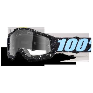 Велоочки 100% Accuri Milkyway / Clear Lens, 50200-196-02Велоочки<br>Классическая вело и мотокроссовая маска лаконичного дизайна – Accuri стильно выглядит, хорошо вентилируется и обеспечивает отличный обзор. Благодаря силиконовой накладке, резинка будет надёжно держаться на шлеме. В комплекте – текстильный чехол.<br><br><br><br>ОСОБЕННОСТИ<br><br><br><br>Цвет оправы/резинки: черный<br><br>Цвет линзы: прозрачный<br><br>В комплекте – текстильный чехол<br>