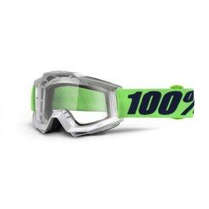 Велоочки 100% Accuri Nova / Clear Lens, 50200-175-02 велоочки 100% accuri pollok clear lens 50200 199 02