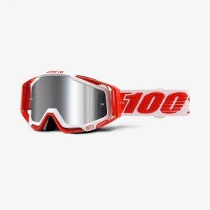 Велоочки 100% Racecraft Plus Bilal / Injected Silver Flash Mirror Lens, 50120-219-02Велоочки<br>Очки 100% Racecraft Plus Bilal / Injected Silver Flash Mirror Lens (50120-219-02)<br>