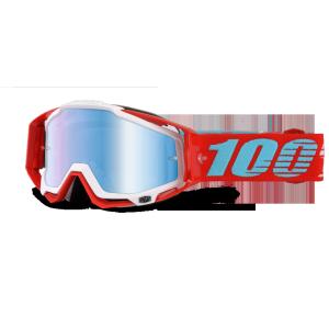 Велоочки 100% Racecraft Kepler / Mirror Blue Lens, 50110-189-02Велоочки<br>Верхняя модель линейки 100%, созданная для самых требовательных гонщиков – максимально лёгкая и удобная, обеспечивающая отличный обзор. Благодаря минималистичному дизайну и тщательно продуманным деталям эта маска отлично выглядит и выполняет свои функции на все 100 процентов. В комплекте – защита переносицы, комплект отрывных лепестков и текстильный чехол.<br><br><br><br>ОСОБЕННОСТИ<br><br><br><br>Цвет оправы/резинки: красный<br><br>Цвет линзы: зеркальный голубой<br><br>В комплекте – защита переносицы, комплект отрывных лепестков и текстильный чехол<br>