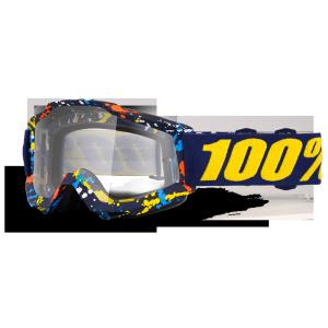 Велоочки 100% Accuri Pollok / Clear Lens, 50200-199-02Велоочки<br>Классическая вело и мотокроссовая маска лаконичного дизайна – Accuri стильно выглядит, хорошо вентилируется и обеспечивает отличный обзор. Благодаря силиконовой накладке, резинка будет надёжно держаться на шлеме. В комплекте – текстильный чехол.<br><br><br><br>ОСОБЕННОСТИ<br><br><br><br>Цвет оправы/резинки: синий<br><br>Цвет линзы: прозрачный<br><br>В комплекте – текстильный чехол<br>