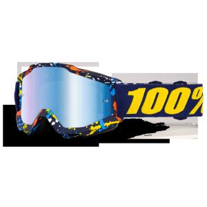 Велоочки 100% Accuri Pollok / Mirror Blue Lens, 50210-199-02 велоочки 100% accuri pollok clear lens 50200 199 02
