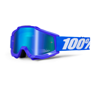 Велоочки 100% Accuri Reflex Blue / Mirror Blue Lens, 50210-002-02Велоочки<br>Классическая вело и мотокроссовая маска лаконичного дизайна – Accuri стильно выглядит, хорошо вентилируется и обеспечивает отличный обзор. Благодаря силиконовой накладке, резинка будет надёжно держаться на шлеме. В комплекте – текстильный чехол.<br><br><br><br>ОСОБЕННОСТИ<br><br><br><br>Цвет оправы/резинки: синий<br><br>Цвет линзы: зеркальный синий<br><br>В комплекте – текстильный чехол<br>