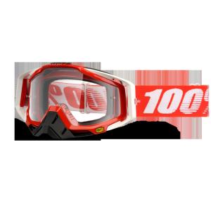 Велоочки 100% Racecraft Fire Red / Clear Lens, 50100-003-02Велоочки<br>Верхняя модель линейки 100%, созданная для самых требовательных гонщиков – максимально лёгкая и удобная, обеспечивающая отличный обзор. Благодаря минималистичному дизайну и тщательно продуманным деталям эта маска отлично выглядит и выполняет свои функции на все 100 процентов. В комплекте – защита переносицы, зеркальная линза с покрытием антифог, сверхпрозрачная линза, комплект отрывных лепестков и текстильный чехол.<br><br><br><br>ОСОБЕННОСТИ<br><br><br><br>Цвет оправы/резинки: красный<br><br>Цвет линзы: прозрачный (зеркальная)<br><br>В комплекте – защита переносицы, зеркальная линза с покрытием антифог, сверхпрозрачная линза, комплект отрывных лепестков и текстильный чехол<br>