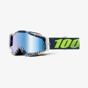 Велоочки 100% Racecraft Eclipse / Mirror Blue Lens, 50110-224-02Велоочки<br>Верхняя модель линейки 100%, созданная для самых требовательных гонщиков – максимально лёгкая и удобная, обеспечивающая отличный обзор. Благодаря минималистичному дизайну и тщательно продуманным деталям эта маска отлично выглядит и выполняет свои функции на все 100 процентов. В комплекте – защита переносицы, комплект отрывных лепестков и текстильный чехол.<br><br><br><br>ОСОБЕННОСТИ<br><br><br><br>Зеркальная линза<br><br>В комплекте – защита переносицы, комплект отрывных лепестков и текстильный чехол<br>