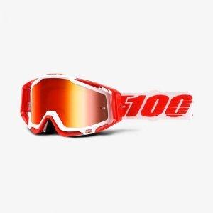 Велоочки 100% Racecraft Bilal / Mirror Red Lens, 50110-219-02Велоочки<br>Верхняя модель линейки 100%, созданная для самых требовательных гонщиков – максимально лёгкая и удобная, обеспечивающая отличный обзор. Благодаря минималистичному дизайну и тщательно продуманным деталям эта маска отлично выглядит и выполняет свои функции на все 100 процентов. В комплекте – защита переносицы, комплект отрывных лепестков и текстильный чехол.<br><br><br><br>ОСОБЕННОСТИ<br><br><br><br>Зеркальная линза<br><br>В комплекте – защита переносицы, комплект отрывных лепестков и текстильный чехол<br>