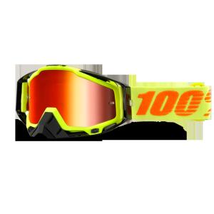 Велоочки 100% Racecraft Attack Yellow / Clear Lens, 50100-026-02Велоочки<br>Верхняя модель линейки 100%, созданная для самых требовательных гонщиков – максимально лёгкая и удобная, обеспечивающая отличный обзор. Благодаря минималистичному дизайну и тщательно продуманным деталям эта маска отлично выглядит и выполняет свои функции на все 100 процентов. В комплекте – защита переносицы, комплект отрывных лепестков и текстильный чехол.<br><br><br><br>ОСОБЕННОСТИ<br><br><br><br>Цвет оправы/резинки: жёлтый<br><br>Цвет линзы: прозрачный<br><br>В комплекте – защита переносицы, комплект отрывных лепестков и текстильный чехол<br>