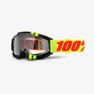 Велоочки 100% Accuri Zerbo / Clear Lens, 50200-225-02Велоочки<br>Классическая вело и мотокроссовая маска лаконичного дизайна – Accuri стильно выглядит, хорошо вентилируется и обеспечивает отличный обзор. Благодаря силиконовой накладке, резинка будет надёжно держаться на шлеме. В комплекте – текстильный чехол.<br><br><br><br>ОСОБЕННОСТИ<br><br><br><br>Прозрачная линза<br><br>В комплекте – текстильный чехол<br>