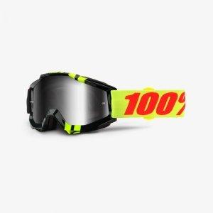 Велоочки 100% Accuri Zerbo / Mirror Silver Lens, 50210-225-02Велоочки<br>Классическая вело и мотокроссовая маска лаконичного дизайна – Accuri стильно выглядит, хорошо вентилируется и обеспечивает отличный обзор. Благодаря силиконовой накладке, резинка будет надёжно держаться на шлеме. В комплекте – текстильный чехол.<br><br><br><br>ОСОБЕННОСТИ<br><br><br><br>Прозрачная линза<br><br>В комплекте – текстильный чехол<br>