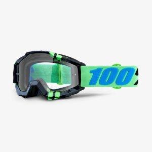 Велоочки 100% Accuri Zerg / Clear Lens, 50200-251-02 велоочки 100% accuri pollok clear lens 50200 199 02