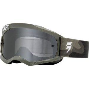 Велоочки Shift White Label Goggle Spark Lens, серый, 19338-027-OSВелоочки<br>Новая маска WHIT3 LABEL от Shift – это то, что вам нужно, и ничего лишнего. Причём, по такой цене, что мимо пройти просто нельзя. Инженеры Shift решили превзойти существующие стандарты бокового обзора - ведь с лучшим обзором вы будете лучше ездить. А чем лучше вы ездите, тем больше вы ездите. Кроме того, в новой маске используется трёхслойный поролон, который быстро сохнет и эффективно отводит лишнюю влагу от кожи. Кроме того, ширина резинки здесь составляет 45 мм потому что крутым парням сегодня нужны именно такие резинки.<br><br><br><br>ОСОБЕННОСТИ<br><br><br><br>Увеличенный размер для лучшего обзора снизу, сверху и по бокам<br><br>Тройной слой поролона с флисовой отделкой для дополнительного комфорта и влагоотвода<br><br>Линза из поликарбоната Lexan обеспечивает стопроцентную защиту от ультрафиолетового излучения. Кроме того, благодаря особой обработке она не запотевает и почти не царапается.<br><br>Дополнительный крепёж для отрывных лепестков на резинке<br><br>Резинка шириной 45мм с силиконовым покрытием для лучшего сцепления<br>