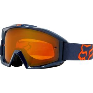Велоочки Fox Main Enduro, синий, 19829-007-OSВелоочки<br>Новая маска от Fox, созданная специально для гонщиков эндуро. Данная модель беспечивает отличный обзор и максимальный комфорт благодаря тройному слою поролона с флисовой отделкой. Прозрачная линза из запатентованного материала Lexan поглощает 100% ультрафиолетового излучения.<br><br><br><br>ОСОБЕННОСТИ<br><br><br><br>Прозрачная линза из запатентованного материала Lexan поглощает 100% ультрафиолетового излучения<br><br>Тройной слой поролона с флисовой отделкой<br><br>Линза из патентованного полимера Lexan обеспечивает стопроцентную защиту от ультрафиолетового излучения<br>