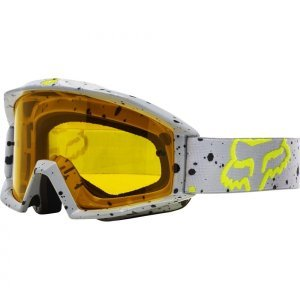 Велоочки Fox Main Nirv Grey/Yellow, 18435-086-NSВелоочки<br>Базовая модель от Fox, обеспечивающая отличный обзор и максимальный комфорт благодаря тройному слою поролона с флисовой отделкой. Линза из запатентованного материала Lexan поглощает 100% ультрафиолетового излучения.<br><br><br><br>ОСОБЕННОСТИ<br><br><br><br>Линза из запатентованного материала Lexan поглощает 100% ультрафиолетового излучения<br><br>Тройной слой поролона с флисовой отделкой<br>