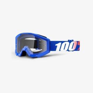 Велоочки подростковые 100% Strata JR Nation / Clear Lens, 50500-236-02Велоочки<br>Strata JR- бюджетная модель с отнюдь не бюджетными характеристиками – в некотором смысле, это новый стандарт масок для юных гонщиков. Маска обеспечивает хороший обзор и оптимальную вентиляцию; поролоновая окантовка плотно прилегает к лицу, а резинка будет надёжно держаться на шлеме благодаря силиконовой накладке.<br><br><br><br>ОСОБЕННОСТИ<br><br><br><br>Прозрачная линза<br><br>В комплекте - текстильный чехол<br>