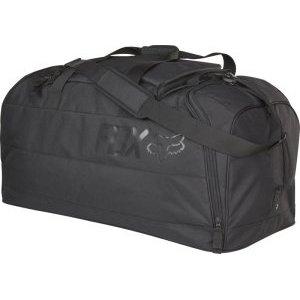 Велосумка Fox Podium Gear Bag, черный, 18808-001-NSВелосумки<br>Объёмная сумка для переноски велоэкипировки, которая отлично подойдёт для автопутешествий и просто для регулярных выездов на тренировки. По размеру она почти аналогична модели Shuttle – в ней достаточно места для всей экипировки (включая шлем, боты, наколенники, панцирь и защиту шеи) и для личных вещей, которые можно распределить по маленьким карманам и отделениям.<br><br><br><br>ОСОБЕННОСТИ<br><br><br><br>Материал: износостойкий полиэстер 600 D<br><br>Большое основное отделение<br><br>Вентилируемые отделения для велобот<br><br>Отдельный карман для маски в верхней части<br><br>Широкий ремень для ношения на плече<br><br>Рассчитана на вес до 52кг<br><br>Размер: 89х38х41см<br>