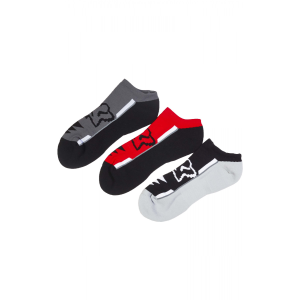 Носки Fox Perf No Show Socks, 3 пары, красный 2017Велоноски<br>Классические низкие носки от Fox. Модель выполнена из мягкой эластичной ткани и декорирована логотипом бренда.<br><br><br><br>ОСОБЕННОСТИ<br><br><br><br>Материал: нейлон/спандекс<br><br>Декор в виде логотипа бренда<br><br>В комплекте – 3 пары<br>