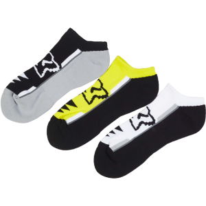 Носки Fox Perf No Show Socks, 3 пары, желтый 2017 носки minecraft socks 3 pack green зеленые s 3 пары 11750