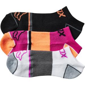 Носки женские Fox Perf No Show Socks, 3 пары, Berry Punch 2017 носки minecraft socks 3 pack green зеленые s 3 пары 11750