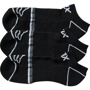 Носки женские Fox Perf No Show Socks 3 пары, черный 2017 носки minecraft socks 3 pack green зеленые s 3 пары 11750