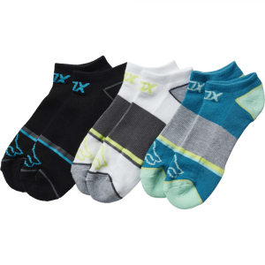 Носки женские Fox Perf No Show Socks 3 пары Jade 2017 носки minecraft socks 3 pack green зеленые s 3 пары 11750