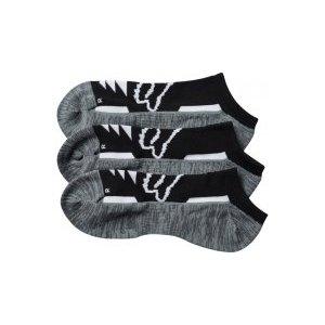 Носки женские Fox Tech Midi Socks 3 пары, черный 2017 носки minecraft socks 3 pack green зеленые s 3 пары 11750