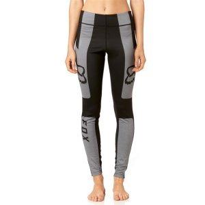 Леггинсы велосипедные женские Fox Moth Legging Heather, серый 2018Велоштаны<br>Стильные и удобные леггинсы от Fox на все случаи жизни. Модель выполнена из мягкой эластичной ткани и декорирована принтом в виде логотипа бренда.<br><br><br><br>ОСОБЕННОСТИ<br><br><br><br>Материал: полиэстер/спандекс<br><br>Принт в виде логотипа бренда<br>