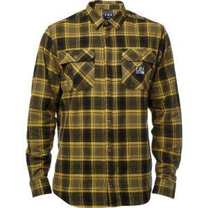 Велорубашка Fox Traildust Flannel Dark Fatigue 2018Велофутболка<br>Классическая фланелевая рубашка от Fox. Модель выполнена из плотной хлопковой ткани, а основные её особенности – два нагрудных кармана и нашивка с логотипом бренда.<br><br><br><br>ОСОБЕННОСТИ<br><br><br><br>Материал: 100% - хлопок<br><br>Два нагрудных кармана<br><br>Нашивка с логотипом бренда<br>