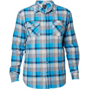 Велорубашка Fox Traildust LS Flannel, синий 2016 платье рубашка fox yulia sway платье рубашка fox