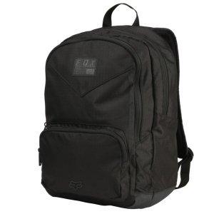 Рюкзак Fox Compliance Lock Up Backpack, черный, 20772-001-OSВелорюкзаки<br>Удобный и вместительный рюкзак на каждый день, выполненный из устойчивой к истиранию синтетической ткани. Здесь есть большое основное отделение и внешнее отделение на молнии. Основные особенности данной модели – мягкие вставки в задней части и лямках для дополнительного комфорта.<br>