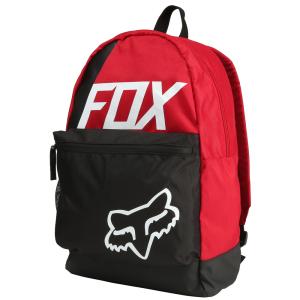 Рюкзак Fox Sidecar Kick Stand Backpack, темно-красный, 19551-208-OSВелорюкзаки<br>Удобный и вместительный рюкзак на каждый день, выполненный из устойчивой к истиранию синтетической ткани. Здесь есть большое основное отделение и внешнее отделение на молнии. Основные особенности данной модели – мягкие вставки в задней части и лямках для дополнительного комфорта.<br>