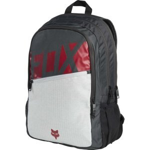 Рюкзак женский Fox Throttle Backpack Dark Red, 19571-208-OSВелорюкзаки<br>Удобный и вместительный рюкзак на каждый день, выполненный из устойчивой к истиранию синтетической ткани. Здесь есть большое основное отделение и внешнее отделение на молнии. Основные особенности данной модели – мягкие вставки в задней части и лямках для дополнительного комфорта. <br><br><br><br>ОСОБЕННОСТИ<br><br><br><br>Материал: полиэстер 600D<br><br>Большое основное отделение<br><br>Дополнительное отделение на молнии<br><br>Мягкие вставки в задней части и лямках<br><br>Оригинальная графика<br><br>Объём: 21.6 л<br>