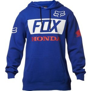Толстовка Fox Honda Basic Pullover, синий 2018