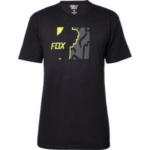 Велофутболка Fox Adikss Tee, черный 2016Велофутболка<br>Классическая футболка с коротким рукавом от Fox. Модель свободного кроя, выполненная из плотной хлопковой ткани и декорированная оригинальным принтом.<br><br><br><br>ОСОБЕННОСТИ<br><br><br><br>Материал: 60% - хлопок, 40% - полиэстер<br><br>С-образный вырез<br><br>Оригинальный принт<br>