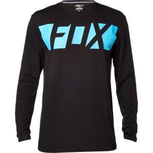 Велофутболка Fox Cease LS Tech Tee, черный 2016Велофутболка<br>Оригинальная футболка с длинным рукавом от Fox, которая отлично подойдёт как для занятий спортом, так и для повседневного ношения. Модель прямого кроя, выполненная из мягкой синтетической ткани. Основная особенность этой футболки – фирменная технология TRUDRI от Fox, благодаря которой материал быстро сохнет и эффективно отводит влагу от тела.<br><br><br><br>ОСОБЕННОСТИ<br><br><br><br>Материал: 85% - полиэстер, 15% - хлопок<br><br>Прямой крой<br><br>Оригинальный принт<br><br>Технология TRUDRI<br>
