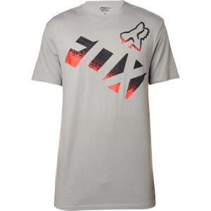 Велофутболка Fox Chemical SS Tee Heather Graphite 2016Велофутболка<br>Высококачественная футболка с коротким рукавом от Fox. Модель свободного кроя, выполненная из плотной хлопковой ткани и декорированная оригинальным принтом.<br><br><br><br>ОСОБЕННОСТИ<br><br><br><br>Материал: 60% - хлопок, 40% - полиэстер<br><br>С-образный вырез<br><br>Оригинальный принт<br>