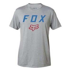 Велофутболка Fox Contended SS Tech Tee Heather, серый 2018