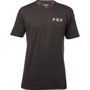 Велофутболка Fox Double Uppers SS Premium Tee, черный 2018Велофутболка<br>Высококачественная футболка от Fox, которая отлично подойдёт как для занятий спортом, так и для повседневного ношения. Модель свободного кроя, выполненная из мягкой синтетической ткани. Основная особенность этой футболки – фирменная технология TRUDRI от Fox, благодаря которой материал быстро сохнет и эффективно отводит влагу от тела.<br><br><br><br>ОСОБЕННОСТИ<br><br><br><br>Материал: 65% - хлопок, 35% - полиэстер<br><br>Свободный крой<br><br>Оригинальный принт<br><br>Технология TRUDRI<br>
