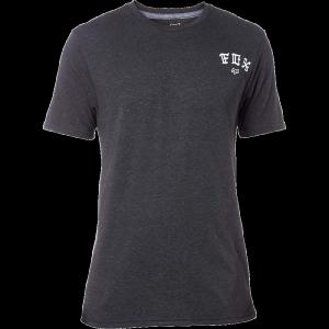 Велофутболка Fox Exiler SS Tech Tee, черный 2017Велофутболка<br>Оригинальная футболка от Fox, которая отлично подойдёт как для занятий спортом, так и для повседневного ношения. Модель свободного кроя, выполненная из мягкой синтетической ткани. Основная особенность этой футболки – фирменная технология TRUDRI от Fox, благодаря которой материал быстро сохнет и эффективно отводит влагу от тела.<br><br><br><br>ОСОБЕННОСТИ<br><br><br><br>Материал: 85% - полиэстер, 15% - хлопок<br><br>Свободный крой<br><br>Оригинальный принт<br><br>Технология TRUDRI<br>