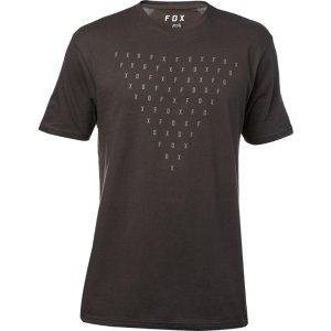 Велофутболка Fox Fantum SS Premium Tee, черный 2018Велофутболка<br>Высококачественная футболка от Fox, которая отлично подойдёт как для занятий спортом, так и для повседневного ношения. Модель свободного кроя, выполненная из мягкой синтетической ткани. Основная особенность этой футболки – фирменная технология TRUDRI от Fox, благодаря которой материал быстро сохнет и эффективно отводит влагу от тела.<br><br><br><br>ОСОБЕННОСТИ<br><br><br><br>Материал: 65% - хлопок, 35% - полиэстер<br><br>Свободный крой<br><br>Оригинальный принт<br><br>Технология TRUDRI<br>