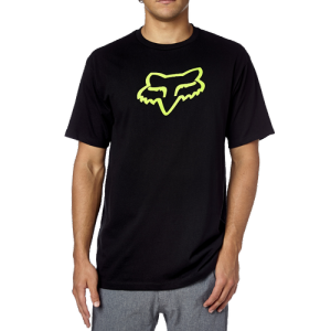 Велофутболка Fox Legacy Foxhead SS Tee, черно-зеленый 2018Велофутболка<br>Высококачественная футболка от Fox. Модель свободного кроя, выполненная из плотной хлопковой ткани и декорированная оригинальным принтом.<br><br><br><br>ОСОБЕННОСТИ<br><br><br><br>Материал: 60% - хлопок, 40% - полиэстер<br><br>Длинный рукав<br><br>С-образный вырез<br><br>Оригинальный принт<br>