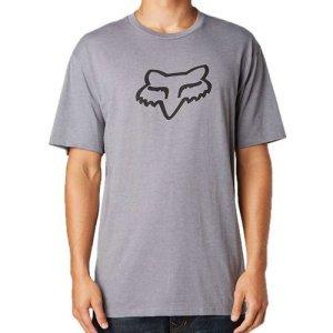 Велофутболка Fox Legacy Foxhead SS Tee Heather Graphite 2018Велофутболка<br>Высококачественная футболка от Fox. Модель свободного кроя, выполненная из плотной хлопковой ткани и декорированная оригинальным принтом.<br><br><br><br>ОСОБЕННОСТИ<br><br><br><br>Материал: 60% - хлопок, 40% - полиэстер<br><br>Длинный рукав<br><br>С-образный вырез<br><br>Оригинальный принт<br>