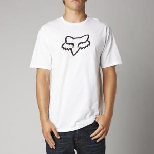 Велофутболка Fox Legacy Foxhead SS Tee, белый 2018Велофутболка<br>Высококачественная футболка от Fox. Модель свободного кроя, выполненная из плотной хлопковой ткани и декорированная оригинальным принтом.<br><br><br><br>ОСОБЕННОСТИ<br><br><br><br>Материал: 60% - хлопок, 40% - полиэстер<br><br>Длинный рукав<br><br>С-образный вырез<br><br>Оригинальный принт<br>