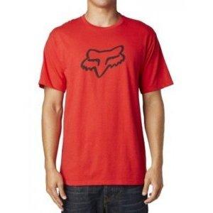 Велофутболка Fox Legacy Foxhead SS Tee, красный 2018Велофутболка<br>Высококачественная футболка от Fox. Модель свободного кроя, выполненная из плотной хлопковой ткани и декорированная оригинальным принтом.<br><br><br><br>ОСОБЕННОСТИ<br><br><br><br>Материал: 60% - хлопок, 40% - полиэстер<br><br>Длинный рукав<br><br>С-образный вырез<br><br>Оригинальный принт<br>