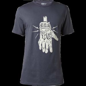 Велофутболка Fox Lifer SS Premium Tee, черный 2017Велофутболка<br>Высококачественная футболка с коротким рукавом от Fox. Модель выполнена из плотной дышащей ткани и декорирована оригинальными принтами.<br><br><br><br>ОСОБЕННОСТИ<br><br><br><br>Материал: 100% - хлопок<br><br>Оригинальный принт на груди<br>