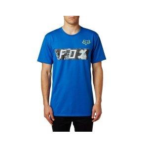 Велофутболка Fox Megameter SS Tech Tee, синий 2018Велофутболка<br>Оригинальная футболка от Fox, которая отлично подойдёт как для занятий спортом, так и для повседневного ношения. Модель свободного кроя, выполненная из мягкой синтетической ткани. Основная особенность этой футболки – фирменная технология TRUDRI от Fox, благодаря которой материал быстро сохнет и эффективно отводит влагу от тела.<br><br><br><br>ОСОБЕННОСТИ<br><br><br><br>Материал: 85% - полиэстер, 15% - хлопок<br><br>Свободный крой<br><br>Оригинальный принт<br><br>Технология TRUDRI<br>