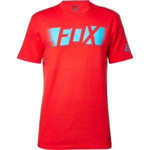 Велофутболка Fox Pragmatic SS Tee, красный 2016 велофутболка shift black label tee темно красный 2018