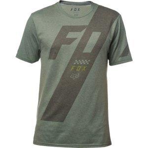 Велофутболка Fox Scalene SS Tech Tee Heather Dark Fatigue 2018Велофутболка<br>Оригинальная футболка от Fox, которая отлично подойдёт как для занятий спортом, так и для повседневного ношения. Модель свободного кроя, выполненная из мягкой синтетической ткани. Основная особенность этой футболки – фирменная технология TRUDRI от Fox, благодаря которой материал быстро сохнет и эффективно отводит влагу от тела.<br><br><br><br>ОСОБЕННОСТИ<br><br><br><br>Материал: 85% - полиэстер, 15% - хлопок<br><br>Свободный крой<br><br>Оригинальный принт<br><br>Технология TRUDRI<br>